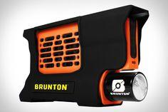 Brunton Hydrogen Reactor. Yes. Hydrogen Reactor. And it's portable.