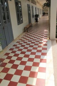 Cement Encaustic Veranda Printed Tile