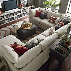 Bassett U-Shaped Sectional