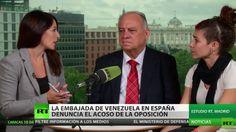 El embajador de Venezuela denuncia lenidad de las autoridades en los incidentes de Madrid (Vídeo)