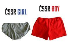 Soc design Czech Republic, Trunks, Gym Shorts Womens, Retro, Boys, Swimwear, Design, Fashion, Memories