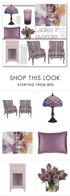 """""""Ladies in lavender"""" by annatiblog ❤ liked on Polyvore featuring interior, interiors, interior design, home, home decor, interior decorating, Dasch, Universal Lighting and Decor, NOVICA and Anja"""