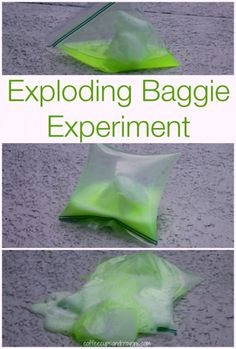 Exploding Baggie Science Experiment for Kids.  This site also has lots of other simple and fun science experiments.