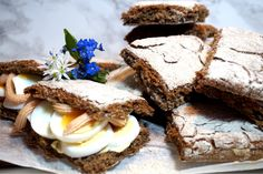 Healthy Diet Recipes, Healthy Baking, Healthy Food, Bread Recipes, Cake Recipes, Kale Crisps, My Daily Bread, Savoury Baking, No Bake Desserts