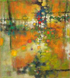 Rick Stevens abstract pastels and oils are luminous and inspiring.