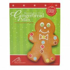 Decorate Your Own Gingerbread Man Kit 180g