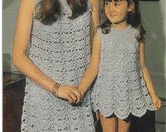 Image result for ladies crochet dress pattern