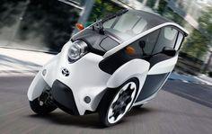 Toyota i-Road concept test drive