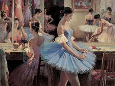 Painting of Ballet Dancers Art for Sale Ballet Art, Ballet Dancers, Ballet Class, Ballerina Painting, Dance Paintings, Degas Paintings, Oil Painting Reproductions, Dance Art, Oil Painting On Canvas