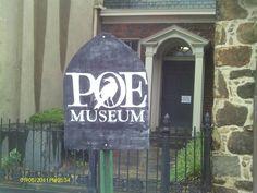 Edgar Allan Poe Museum in Richmond, Virginia