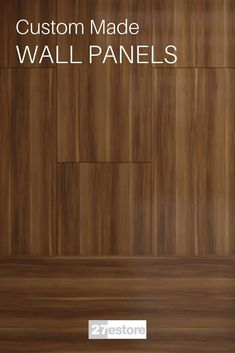 We know how wall mounted wood panels can affect the feel of a room. Our wood paneling systems are intended to do just that: allow you to use designer wood panels to create a look and feel that is unique to your living and working spaces. The natural wood patterns on our wood wall panels are precisely the details that make a wall paneling system so attractive: with a simple installation of a single detail, you can recreate the entire feel of your interior design.