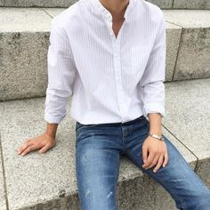 men's jeans big and tall Korean Fashion Men, Fashion Mode, Korean Men, Asian Fashion, Men's Fashion, Fashion Outfits, Fashion Vintage, Style Masculin, Style Guides