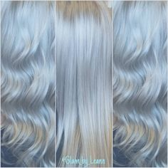 """Hair Color♡Cuts♡Styling on Instagram: """"One more only because it was so fun creating this color!!""""  #silverhair #greyhair #grayhair #titanium #platinum #platinumgrey"""