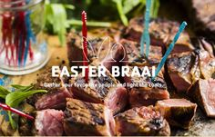 All your Braai Easter ideas at your fingertips. Easter 2015, Easter Ideas, Recipes, Food, Recipies, Essen, Meals, Ripped Recipes, Yemek