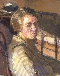 Camden Town Portrait by Walter Richard Sickert Collection: Amgueddfa Cymru – National Museum Wales
