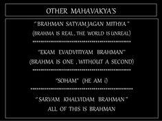 Tat Asmi Prabhu. Other Mahavakyas are silent about Natural vs Supernatural, and Regulative vs Constitutive Dualism.