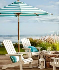Outdoor living at Pottery Barn.