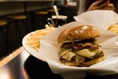 Tokyo Cray !!! Golden Brown Burger.