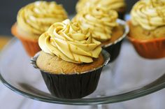 Harry Potter's Butterbeer Cupcakes