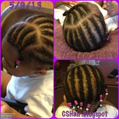 Kids Hairstyles Braids : Toddler Hairstyles for Little Curls & Naturals by CSHair - Hairstyles Trends Network : Explore & Discover the best and the most trending hairstyles and Haircut Around the world Toddler Braid Styles, Little Girl Braid Styles, Toddler Braids, Braids For Kids, Children Braids, Kid Braids, Girls Braids, Kid Styles, Black Baby Girl Hairstyles