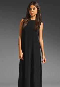 BLK DNM Sleeveless Floor Length Dress in Black at Revolve Clothing - Free Shipping!