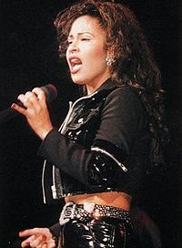 1995 - The death of Selena: I remember my sister being upset when this happened. I had no idea who she was until I saw the film starring Jennifer Lopez in '97.