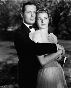 Ingrid Bergman and Robert Montgomery, Rage in Heaven  (1941)