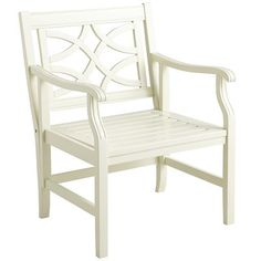 Rock Point Armchair - Antique White