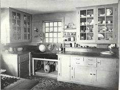 Photos of Old Kitchens from 1860 to 1970 - Page 2 of 2 - History Daily