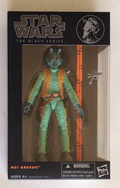Hasbro Star Wars Greedo Black Series 6 Inch Action Figure