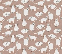 Pattern Cats Emily Isabella