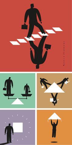 pictograms, icons, innovation, business, producer, designer, finance, cooperation, brochure, leaflet