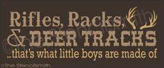 2096 - Rifles Rack and Deer Tracks