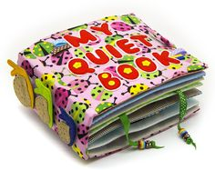 Quiet Book, Busy Book, Eco friendly, 12 pages, MiniMom's