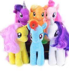 MLP Little Horse Plush Toys Cartoon Animals Baby Toy For Children $15.99