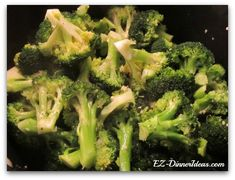 Once you learned how to make this simply sauteed broccoli recipe, pair it up with other ingredients