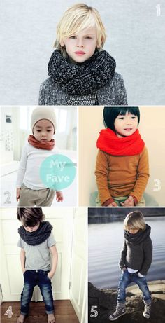 Another simple yet effective idea for Boys to style them up during winter, choose a fun and colorful scarf. Mix & Match with any outfit