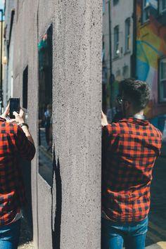 New free photo from Pexels: https://www.pexels.com/photo/man-in-blue-jeans-walking-along-the-street-202778/ #city #man #street