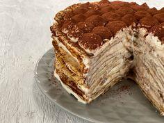 Κέικ Τιραμισού με Κρέπες - Lambros Vakiaros Waffles, Pancakes, Sweet Bread, Crepes, Tiramisu, Oreo, Ethnic Recipes, Food, Youtube