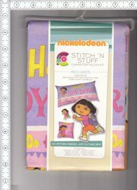 Dora Stitch and Stuff Pillow Kits.  I thought I would have time to get these made for my granddaughters and have not found the time.  These can be found at http://www.yardbyyardfabricsandcrafts.com under new arrivals for the next 30 days and then will be moved to a different category.