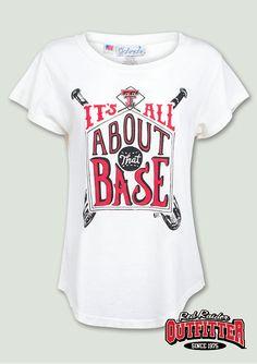 Cute women s baseball tshirt!  itsallaboutthatbase  danlawfield  texastech   redraideroutfitter  ttu   f2536ea3f