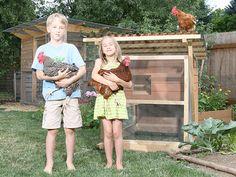 The Garden Ark Mobile Chicken Coop Plan Ebook (pdf), Instant Download, Metric…