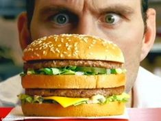 Image result for food adverts with people