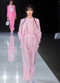 Emporio Armani – Fashion Week London F/S 2018 | ELLE