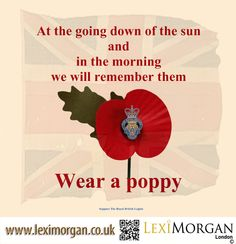 Lexi Morgan London Supporting The Royal British Legion in their poppy appeal