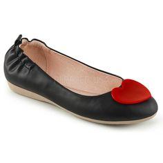 http://www.lenceriamericana.com/calzado-sexy-de-plataforma/39763-zapatos-bajos-bailarinas-linea-pin-up-polipiel-con-detalle-de-corazon.html