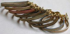 Zipper Bracelets!