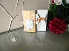 Kommunionkarte Stampin Up * * * Tisch gedeckt * * *