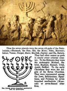 Cult Of The Ancient Gods  http://logoblink.com/jewish-candlestick-symbol/