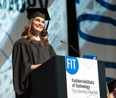 Get all the highlights from Brooke Shields's memorable FIT graduation speech.